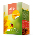 Krillöl Premium + Astaxanthin + Vit. D
